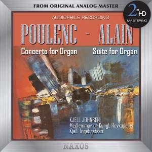 Poulenc: Organ Concerto - Alain: Organ Suite