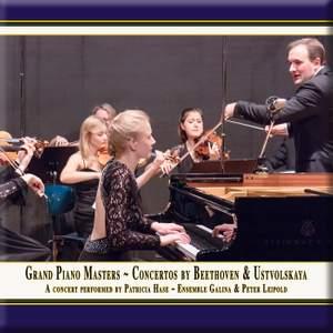 Beethoven: Piano Concerto No. 2 & Ustvolskaya: Concerto for Piano, Strings & Timpani Product Image