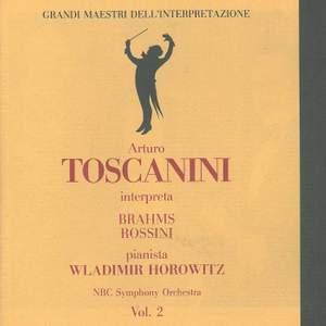 Toscanini interpreta Brahms, Rossini