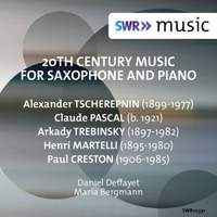 20th Century Music for Saxophone & Piano