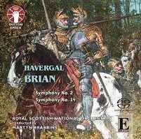 Havergal Brian: Symphonies Nos. 2 & 14