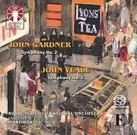 John Gardner: Symphony No. 2 & John Veale: Symphony No. 2