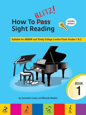 How To Blitz! Sight Reading, Book 1 Product Image