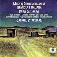 Musica Contemporanea Española E Italiana Para Guitarra