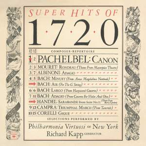 Greatest Hits of 1720