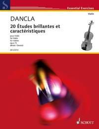 Dancla, C: 20 Études brillantes et caractéristiques op. 73