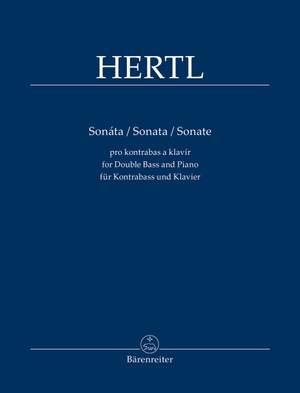 Hertl, František: Sonata for Double Bass and Piano