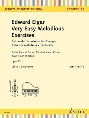 Elgar, E: Very Easy Melodious Exercises op. 22