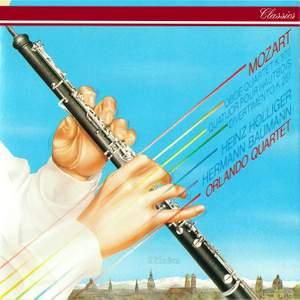 Mozart: Oboe Quartet, Adagio in C major & Nannerl Septet