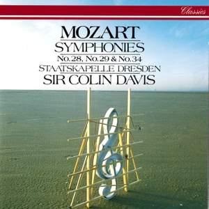 Mozart: Symphonies Nos. 28, 29 & 34