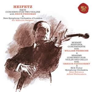 Bach & Brahms: Double Concertos & Mozart: Sinfonia concertante K364