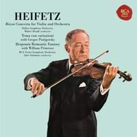 Rózsa: Violin Concerto & Benjamin: Romantic Fantasy