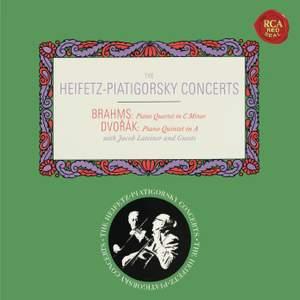 Brahms: Piano Quartet No. 3 & Dvorák: Piano Quintet No. 2