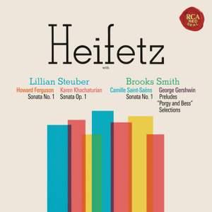 Ferguson, Khachaturian & Saint-Saëns: Violin Sonatas