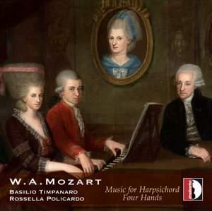 Mozart: Music for Harpsichord 4 Hands