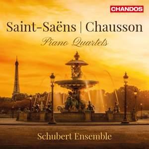 Saint-Saëns & Chausson: Piano Quartets Product Image