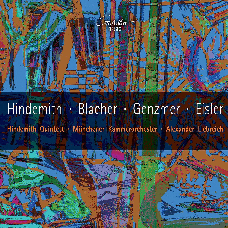 Hindemith, Blacher, Genzmer & Eisler: Chamber Works