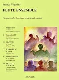 Franco Vigorito: Flute Ensemble
