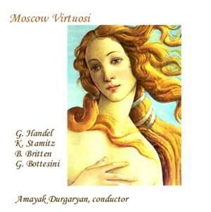 Moscow Virtuosi: Handel, Stamitz, Britten & Bottesini
