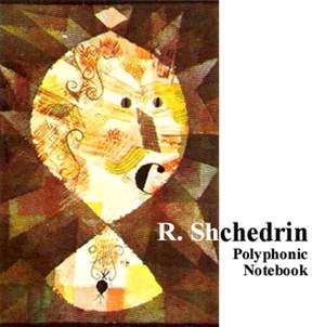 Shchedrin: Polyphonic Notebook, Op. 50 '25 Polyphonic Preludes' Product Image