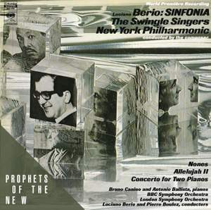 Berio: Sinfonia & Concerto for Two Pianos