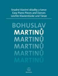 Martinu, Bohuslav: Easy Piano Pieces and Dances