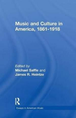 Music and Culture in America, 1861-1918