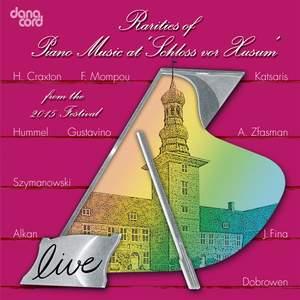 Rarities of Piano Music at the Husum Festival 2015