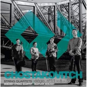 Shostakovich: String Quartets Nos. 5, 8 & 11