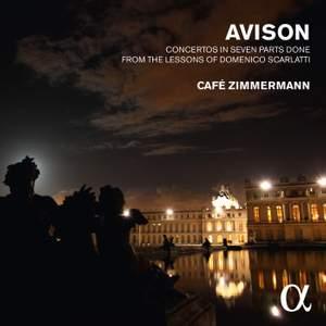 Avison: Six Concerti grossi after Scarlatti Product Image