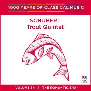 Schubert - Trout Quintet: Vol. 34 Product Image