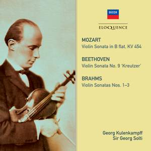 Beethoven, Mozart & Brahms: Violin Sonatas
