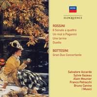 Rossini: Sonate a quattro & Bottesini: Gran Duo Concertante