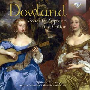 Dowland: Songs for Soprano and Guitar