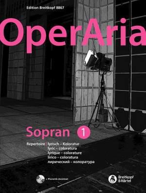 OperAria Soprano Volume 1: Lyric coloratura