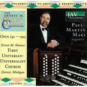 Great Organ Builders Of America: A Retrospective (Volume 11)