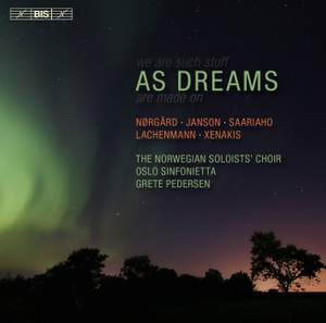 As Dreams - Choral Music