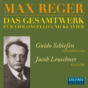 Reger: Works for Cello & Piano Product Image