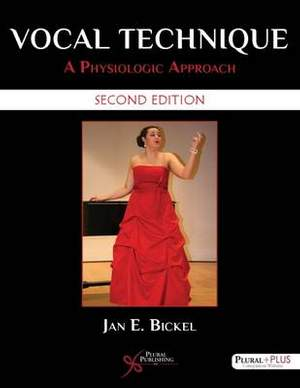 Vocal Technique: A Physiologic Approach