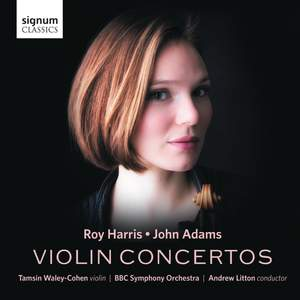 Adams & Harris Violin Concertos