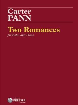 Carter Pann: Two Romances