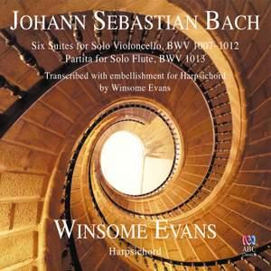 JS Bach: Six Suites for Solo Violoncello & Partita for Solo Flute Product Image