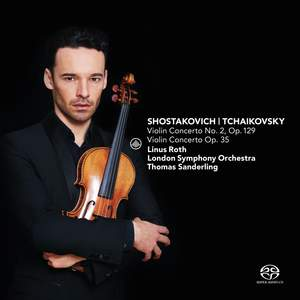 Shostakovich: Violin Concerto No. 2 & Tchaikovsky: Violin Concerto Product Image
