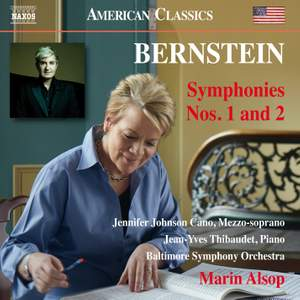 Bernstein: Symphonies Nos. 1 & 2 Product Image