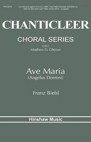 Franz Biebl: Ave Maria