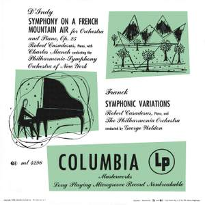D'Indy, Frank & Mozart: Works for Piano and Orchestra