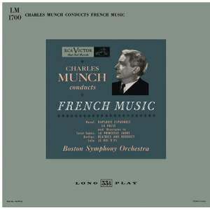 Charles Munch Conducts French Music