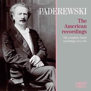 Paderewski: The American Recordings