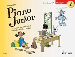 Heumann, H: Piano Junior: Theory Book 1 Vol. 1