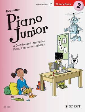 Heumann, H: Piano Junior: Theory Book 2 Vol. 2